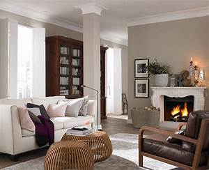 Wohnzimmer Streichen Muster : landhausstil so funktioniert er sch ner wohnen ~ Markanthonyermac.com Haus und Dekorationen