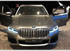 2019 BMW 7 Series Facelift Reveals Its Front Facade In A