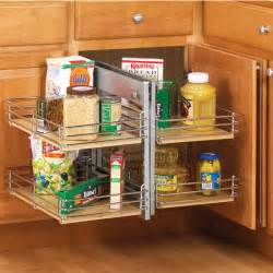 slide out base blind kitchen corner cabinet unit by knape