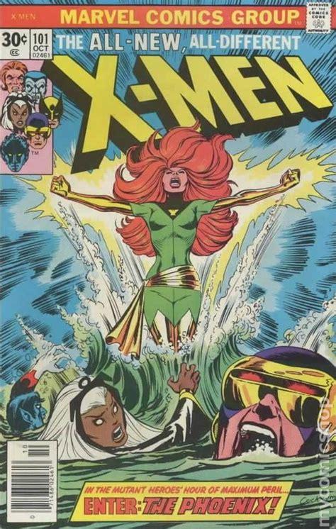 101 comic uncanny 1st phoenix comics xmen books covers issue dark saga jean grey 1963 marvel iconic enter series front