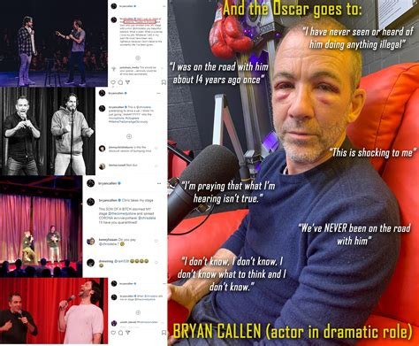 This is the first time in 2020 that Bryan Callen and ...