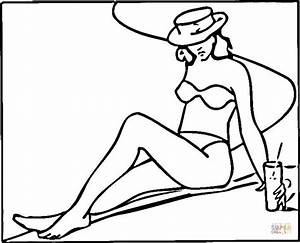 Swimsuit Coloring Pages Coloring Pages