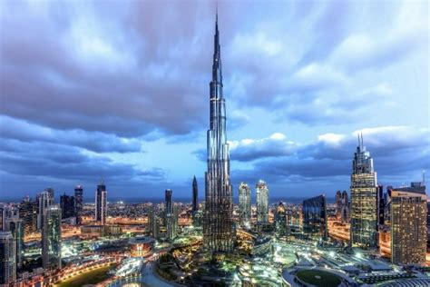 Dubai's Burj Khalifa Ranked Among World's Top 10 Most