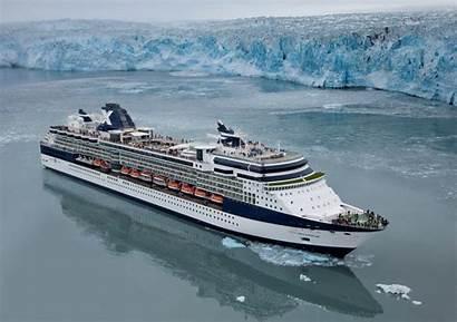Cruise Alaska Celebrity Cruises Alaskan Ship Glacier