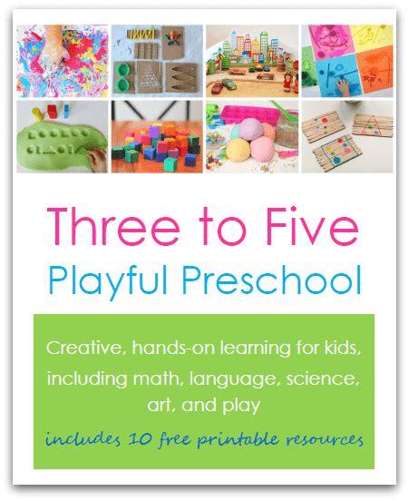 three to five playful preschool nurturestore 542 | book cover 3d