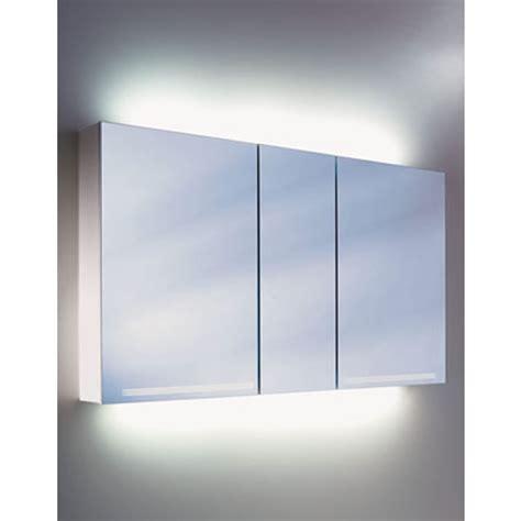 mirror cabinet with light schneider graceline 3 door mirror cabinet uk bathrooms