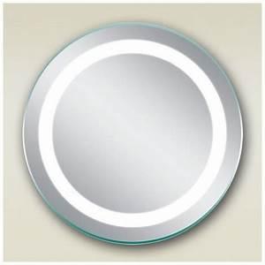 Miroir Rond Led : miroir salle de bain rond 50x50 cm clairage led bull 39 s ~ Teatrodelosmanantiales.com Idées de Décoration