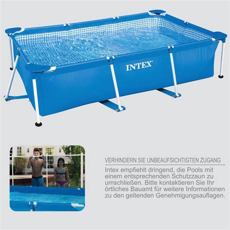 intex 300x200x75 cm swimming pool mit sandfilter schwimmbecken stahlwandbecken ebay