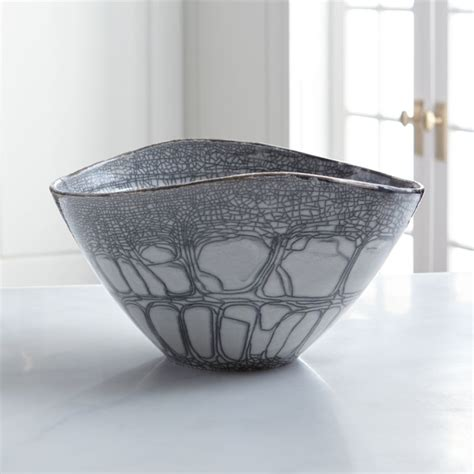 Shop for modern centerpiece bowls at cb2. Tate Centerpiece Bowl + Reviews | Crate and Barrel