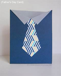 Craftaholics Anonymous® | Handmade Fathers Day Card