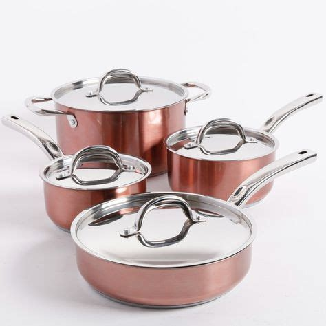 oster brookfield  piece stainless steel cookware set cookware set induction cookware safest