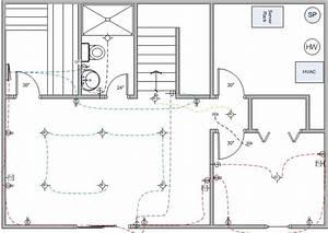 Basement Finish Wiring Diagram - Electrical