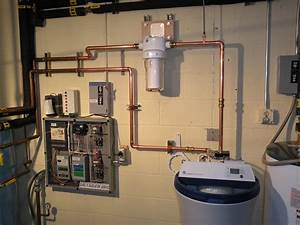 Completed  Water Filter And Water Softener Installation