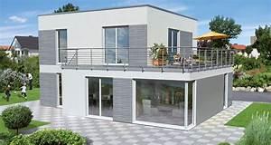 Haus Bauen Beispiele : haus c130 hauslinie cubus opta massivhaus ~ Markanthonyermac.com Haus und Dekorationen