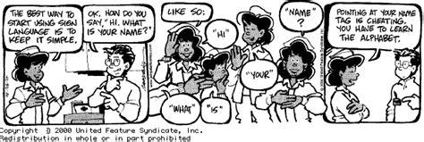 Deaf People In Cartoons