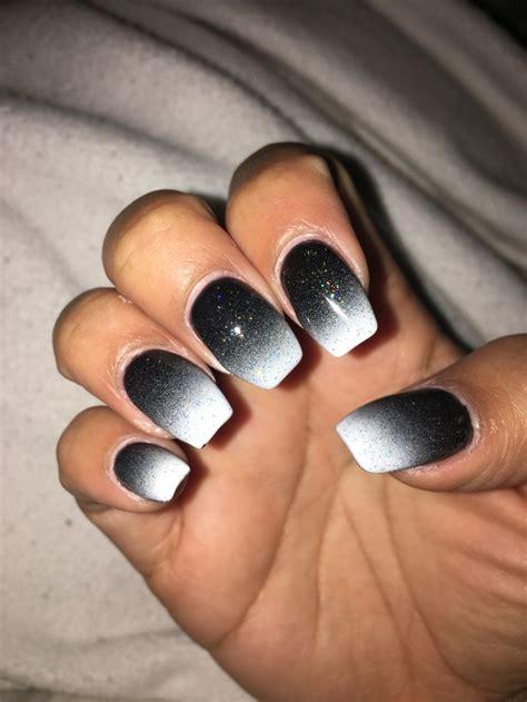 Черный маникюр 20202021 . Фотоновинки 126 идей дизайна на черные ногти