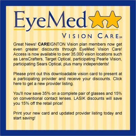 eyemed provider phone number careington international eyemed
