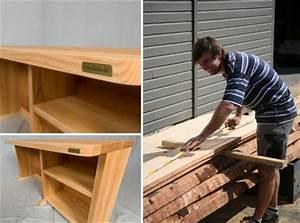 Schreibtisch Aus Holz : schreibtisch holz natur ~ Whattoseeinmadrid.com Haus und Dekorationen