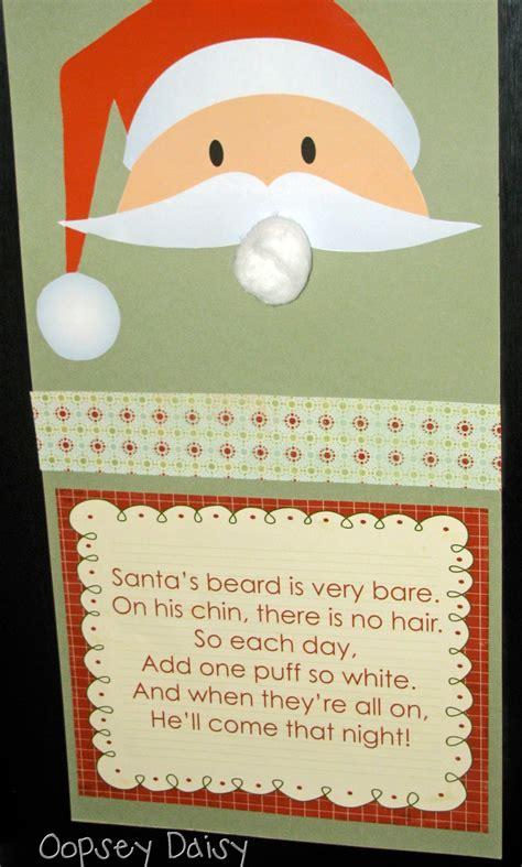 christmas book advent day 1 santa beard countdown