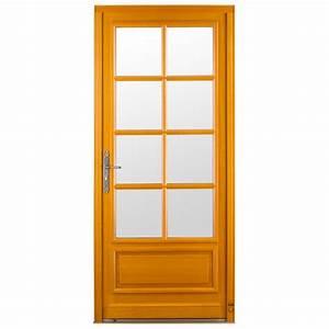 porte d39entree bois briottiere pasquet menuiseries With portes d entrée bois