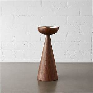 baltic large pillar candle holder cb2 With kitchen cabinet trends 2018 combined with candle holder wooden