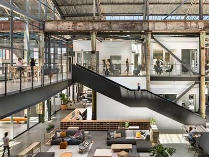 Industrial Interior Spacestor Factory Thinklab Office Appeal