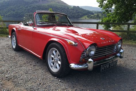 Triumph Tr4a Irs  British Classic Cars For Hire Lakes