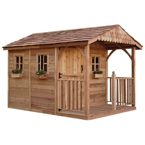 Home Depot Backyard Sheds outdoor living today santa rosa 12 ft x 8 ft cedar