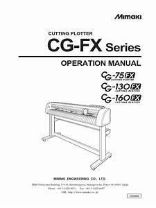Mimaki Ts34 Service Manual