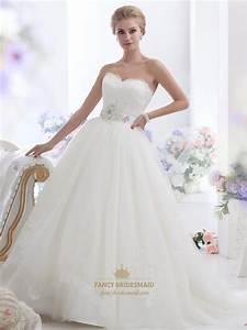 ivory lace bodice tulle skirt wedding dress with With lace tulle wedding dress
