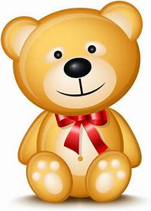 Cute cartoon teddy bear vector Free vector in Encapsulated ...