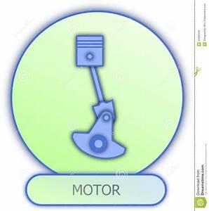 Motor Symbol And Icon Stock Illustration  Illustration Of