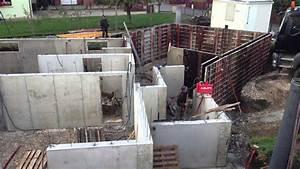 Mur En Béton : murs en beton bancher youtube ~ Melissatoandfro.com Idées de Décoration