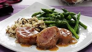 Honey Dijon Pork Tenderloin with Asparagus recipe from ...