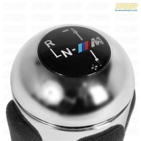bmw e46 shift knob 25162282811 smg shift knob e46 m3 turner motorsport