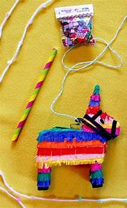 Miniature Donkey Piñata + Candy Party Set (playscale 1:6 ...
