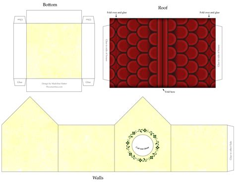 craft templates free printable craft template birdhouse with siding stucco walls and tile roof pecuniarities