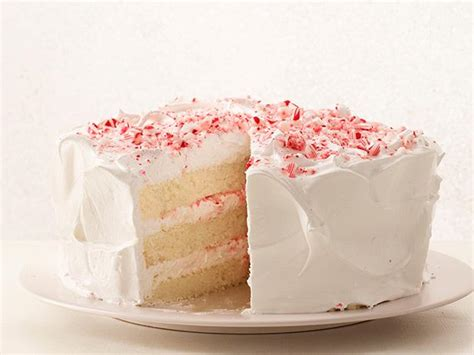 peppermint cake peppermint layer cake with candy cane frosting recipe food network kitchen food network