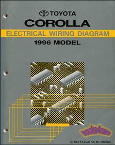 Shop Manual Corolla 1996 Electrical Service Repair Wiring Diagram Schematic