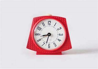 Clock Alarm Soviet Mechanical