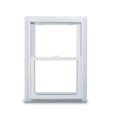 american craftsman       series double hung white vinyl window  nailing