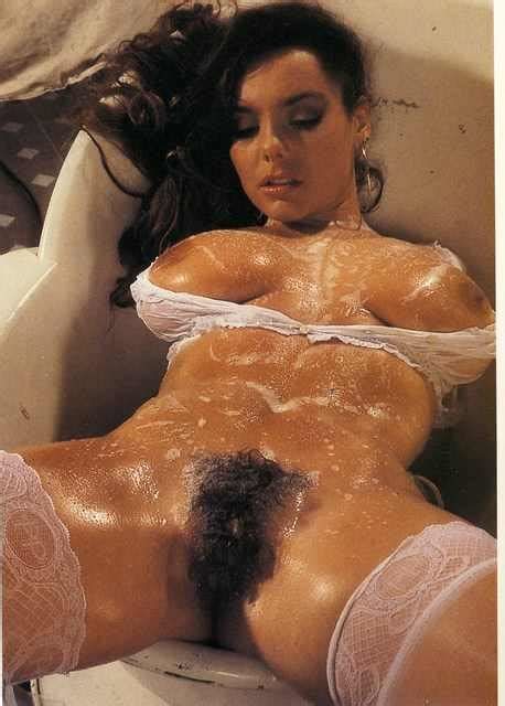 Soapy Retro Bush Hairy Pussy Luscious