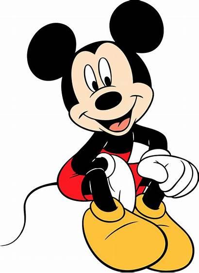 Mickey Mouse Sitting Micky Cartoonbucket Cartoons Character