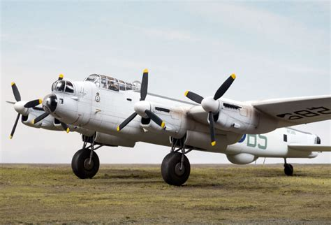 Avro Lancaster MR.3 by Brett Green (Revell 1/72)