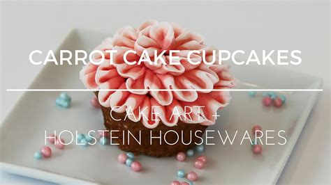 carrot cake cupcake recipe baked  holstein housewares