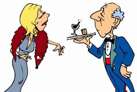 A Rich Woman And Her Butler (JOKE)