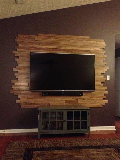 wood tv wall  creations pinterest tv walls tvs