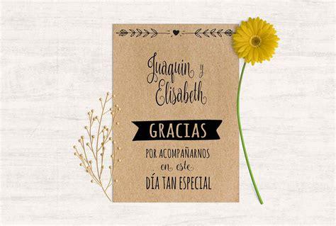 tarjeta de agradecimientos tarjeta agradecimiento boda baratas martina design paper