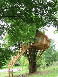 Constructeur Cabane Dans Les Arbres : cabane ch taigner nidperch constructeur de cabane ~ Dallasstarsshop.com Idées de Décoration