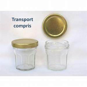 Petit Pot De Confiture : petits pots facettes 44 ml avec couvercle au choix en ~ Farleysfitness.com Idées de Décoration